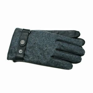 New IKE Behar Mens Leather and Wool Gloves